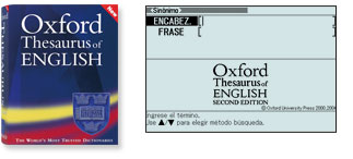 Oxford Thesaurus of English 2nd edition